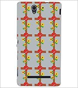 SONY XPERIA C3 PATTERN Designer Back Cover Case By PRINTSWAG