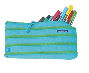 Staedtler Triplus Fineliners 20 Assorted Colours With Magic Zip Pencil Case 334ZPC20 (Pencil case color may vary)