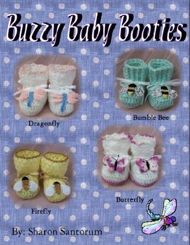Buzzy Baby Bootie Crochet Pattern