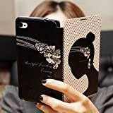 Luxury Beauty Wallet Card Holder Phone Flip PU Case Cover for iPhone4S 5 5S 5C (WHD806 For 5 5S) image