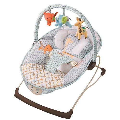 Carter's Animal Parade Snuggle 'n Comfort Musical Bouncer