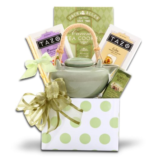 Tazo Tea Time Gift Set W/Jack Allen'S Caramel Cookies