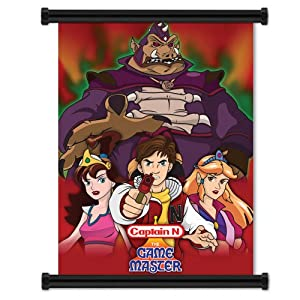 Amazon Com Captain N The Game Master Group 3 Wall Scroll