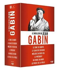 Jean Gabin - Coffret 6 films