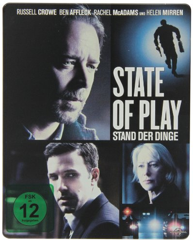 State of Play - Stand der Dinge - Steelbook [Blu-ray]