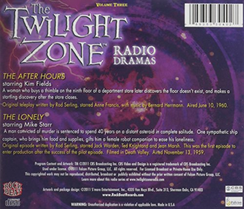 The Twilight Zone Radio Dramas by Various Authors (2013, CD) volume 23