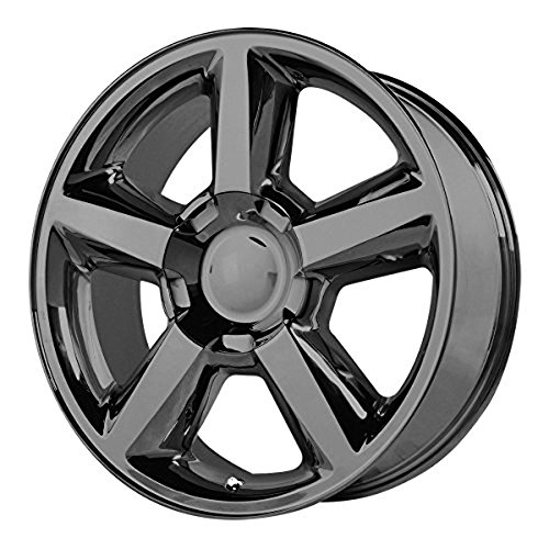OE Creations | 131GB-285831 | 20 Inch | Chevy Silverado 1500LTZ | PR131 Wheel/Rim | Black | 20x8.5 Inch | 6x5.5/6x139.70 | 31mm (Chevy Silverado Rims 20 compare prices)