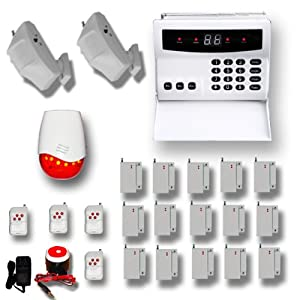 AAS 300 Wireless Home Security Alarm System Pet Immune DIY(R)