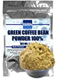 GREEN COFFEE BEAN POWDER 100% - 2.5 Oz Lab Grade - Chlorogenic Acid Polyphenols - No Fillers, Sugar, or Additives - Made In The USA by Federal Ingredients