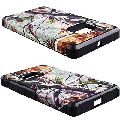 Microsoft Nokia Lumia 730 / 735 Case - Armatus Gear (TM) Slim Hybrid Armor Case Dual Layer Shockproof Phone Cover For Microsoft Nokia Lumia 730 / 735 by Armatus Gear