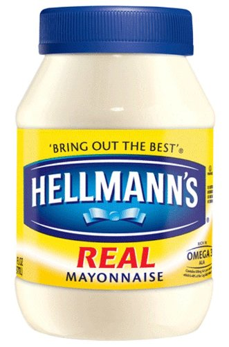 Hellmann's Real Mayonnaise, 30oz (048001213487)