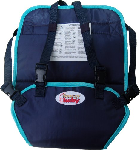 Best Review Of Snazzy Baby My Baby's Own Deluxe Travel Chair, Navy