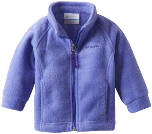 Columbia Baby Girls' Benton Springs Fleece Jacket, Purple Lotus, 6-12 Months