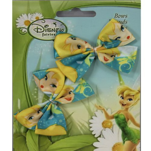 Disney fairies bows for headband, Pack Of 3