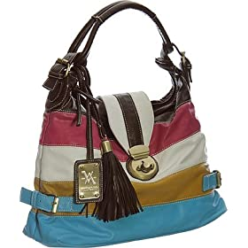 Large ''Zane Hobo'' By Vitalio - Black & Off White, Blue & Green, Brown or Multi Color