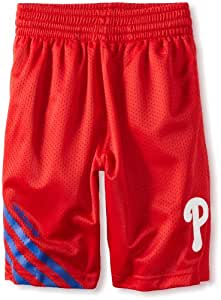 MLB Youth Philadelphia Phillies Celebration Short (Red, Small)