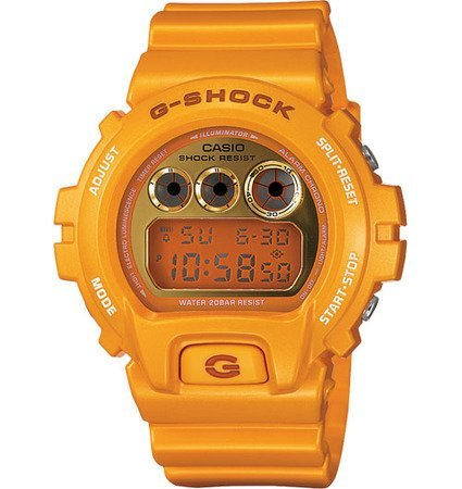 Casio G-Shock 6900 Yellow Mirror-Metalic Watch