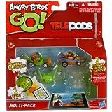 Angry Birds Go Telepods Spielset (Sortimentsartikel) [UK Import]
