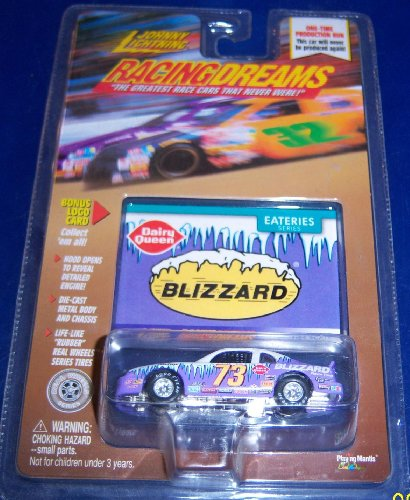 Johnny Lightning Racing Dreams # 73 DQ Blizzard - 1