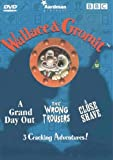 Wallace & Gromit, 'A Grand Day Out', The 'Wrong Trousers' & 'A Close Shave' [1992] [DVD]