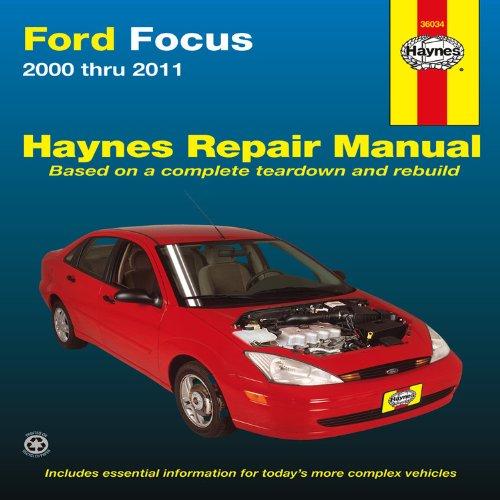 2000 2005 automotive focus ford haynes manual repair. Black Bedroom Furniture Sets. Home Design Ideas