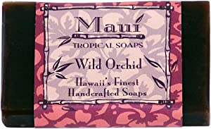 Maui Tropical Soaps Hawaiian Guest Soap Wild Orchid, 1.5-Ounce (Pack of 4)