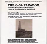 img - for The G-34 Paradox: Inside the Army's Secret Mustard Gas Project at Dow Chemical in World War I book / textbook / text book