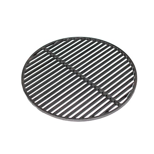 "Best Price Aura Outdoor Products Cast Iron Dual Side Grid Cooking Grate 18"" for Large Big Green..."