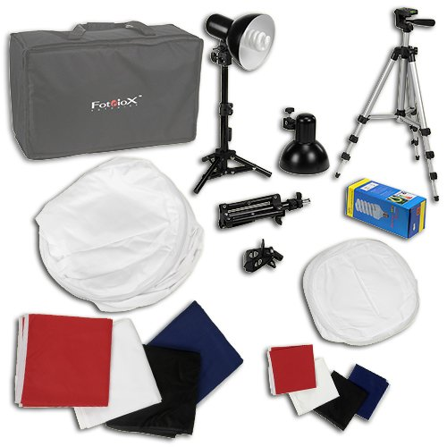 Galleon Fotodiox Pro Deluxe 1000 Photo Studio In A Box Kit With 30x30 And 12x12 Tent 2 Table