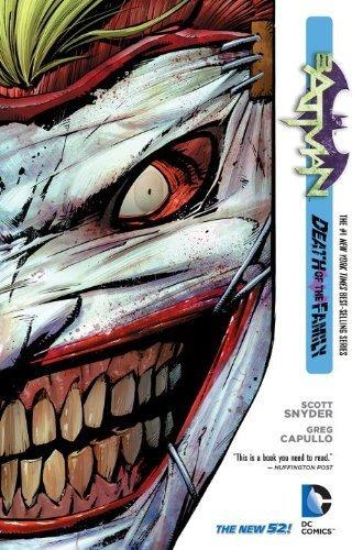 Batman Volume 3: Death of the Family HC (The New 52) (Batman (DC Comics)) by Scott Snyder (2013) Hardcover