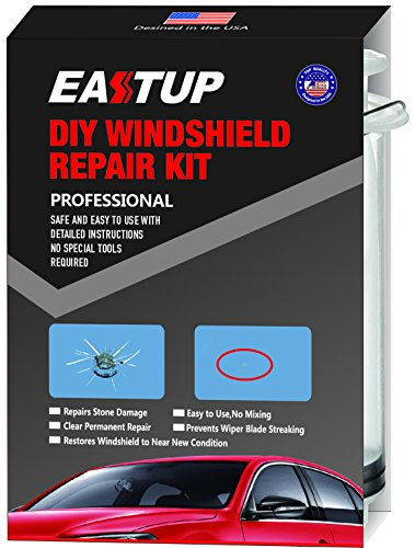 Eastup Windshield Repair Kit Can Repair 1-3 Chips (Cracked Glass Repair Kit compare prices)
