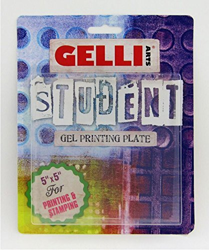 Gelli Arts Gel Printing Student Plate 5X5 In by Gelli Arts Picture