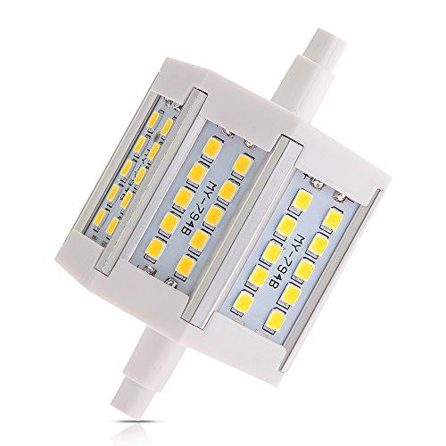 R7S/J78 Warm White 30 Led 2835 Smd Light Lamp Bulb 78Mm 6W Ac100-240V 540Lm