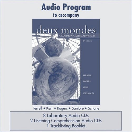 Audio CD Program  to accompany Deux mondes: A...