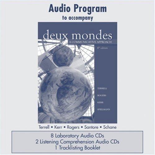 Audio CD Program  to accompany Deux mondes: A...