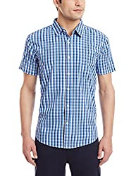 Fox Men's Casual Shirt (135434090040_135434_Medium_Royal)