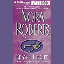 Key of Light: Key Trilogy, Book 1 (       UNABRIDGED) by Nora Roberts Narrated by Susan Ericksen