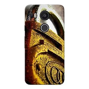 Mobile Back Cover For Google Nexus 5X (Printed Designer Case)
