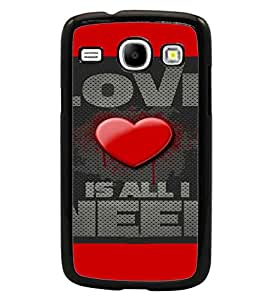 PrintDhaba Quote D-4116 Back Case Cover for SAMSUNG GALAXY CORE i8262 (Multi-Coloured)