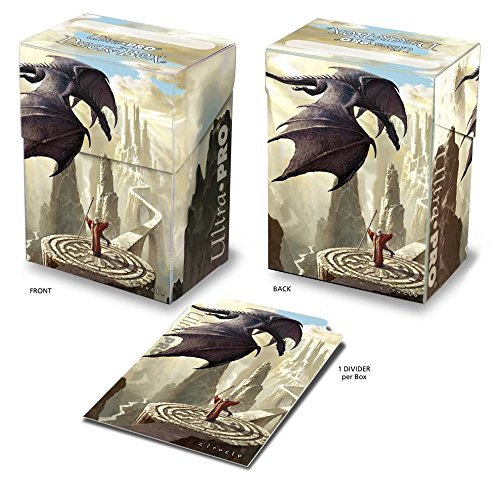 Ultra-Pro Dragon Caller Deck Box with art by Ciruelo Cabral - 1