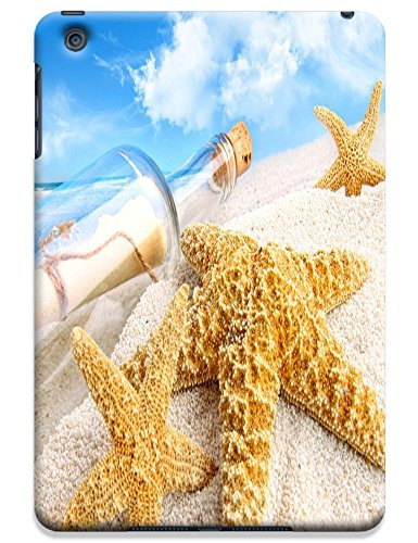 Fantastic Faye Cell Phone Cases For Ipad Mini No.18 The Fashion Design With Warm Sunshine Beach Blue Sky Clean Water Sea Star Beautiful Shell Slipper
