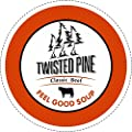 Twisted Pine Home Style Beef Soup Broth, Single-Serve Cups for Keurig K-Cup Brewers, 24 Count by Twisted Pine