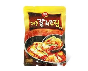 Sempio Jeju Galchi-Jorim Fish Stir-Fry Sauce, 230-Grams (Pack of 8)