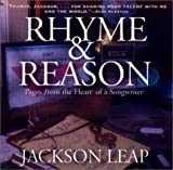 echange, troc Jackson Leap - Rhyme & Reason: Pages from the Heart of a Songwriter with CD (Audio)