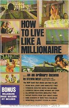 how to live like a millionaire
