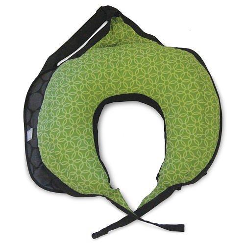 Boppy Travel Pillow - Gray Dot front-872623