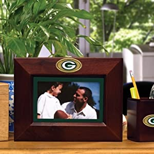 Green Bay Packers Memory Company Landscape Picture Frame NFL Football Fan Shop Sports... by Memory Company