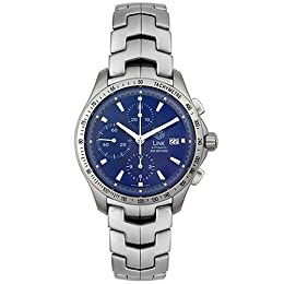 TAG Heuer Men s CJF2114 BA0576 Link Automatic Chronograph Watch