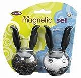 Chef'n Mini Magnetic Set, Black Handles and Black Pads