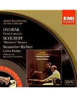 Dvorák: Piano Concerto. Schubert: Fantasy in C Major D.760 'Wanderer'